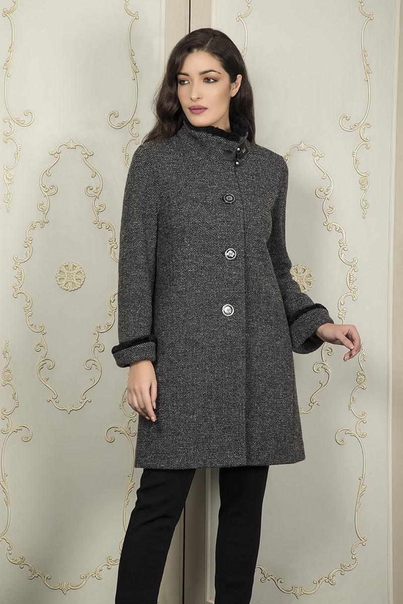 cappotto grigio Aldo Colombo
